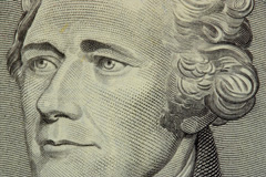 alexander hamilton on 10 dollar bill